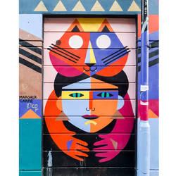 Street art by Margaux Carpentier