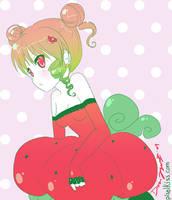 Strawberry girl by yume
