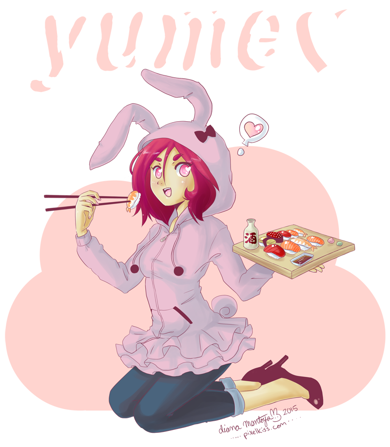 i want sushi by yume