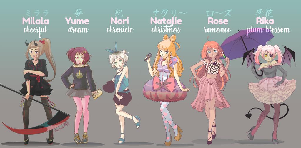 fashionistas by yume