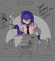 Just another day in the office by yume