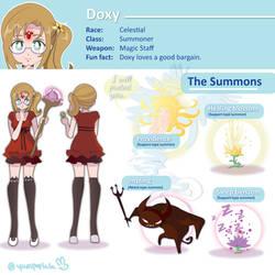 Doxy character sheet