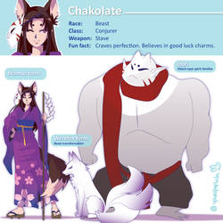 Chakolate character sheet