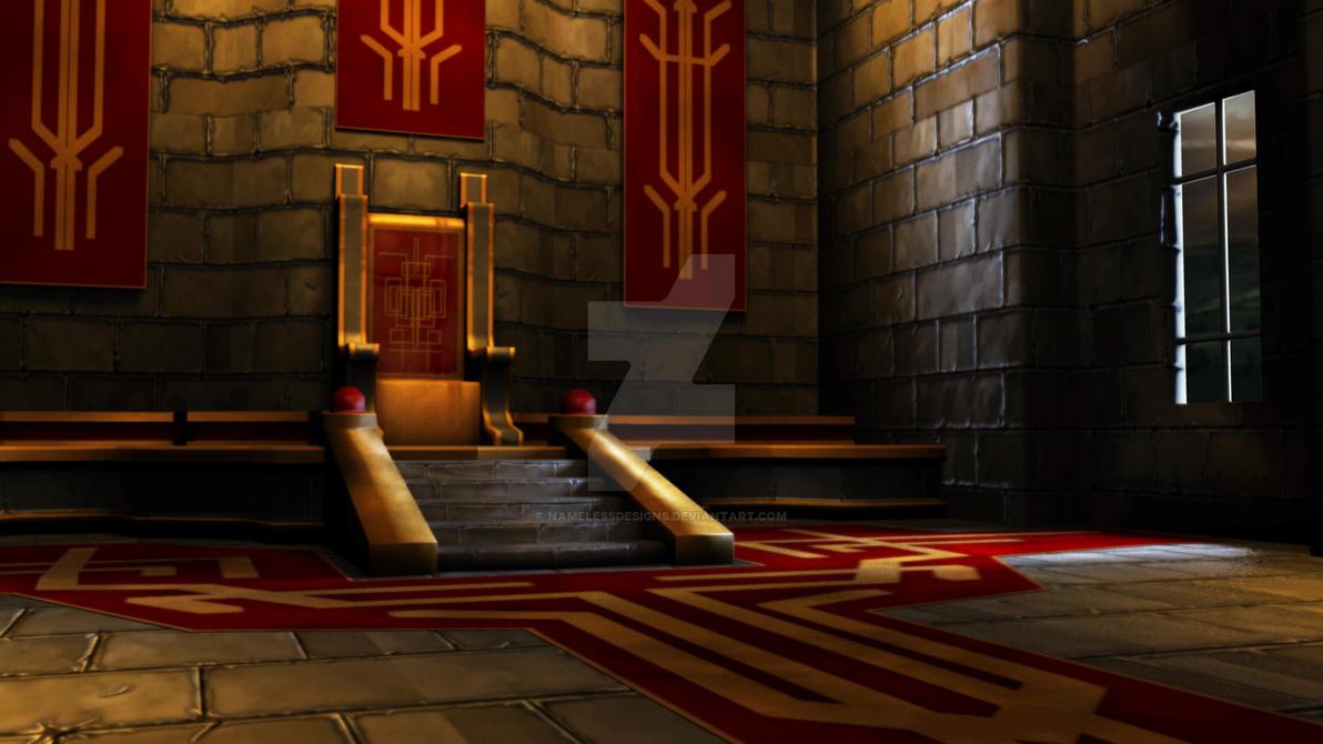 Minecraft Throne Room Chair