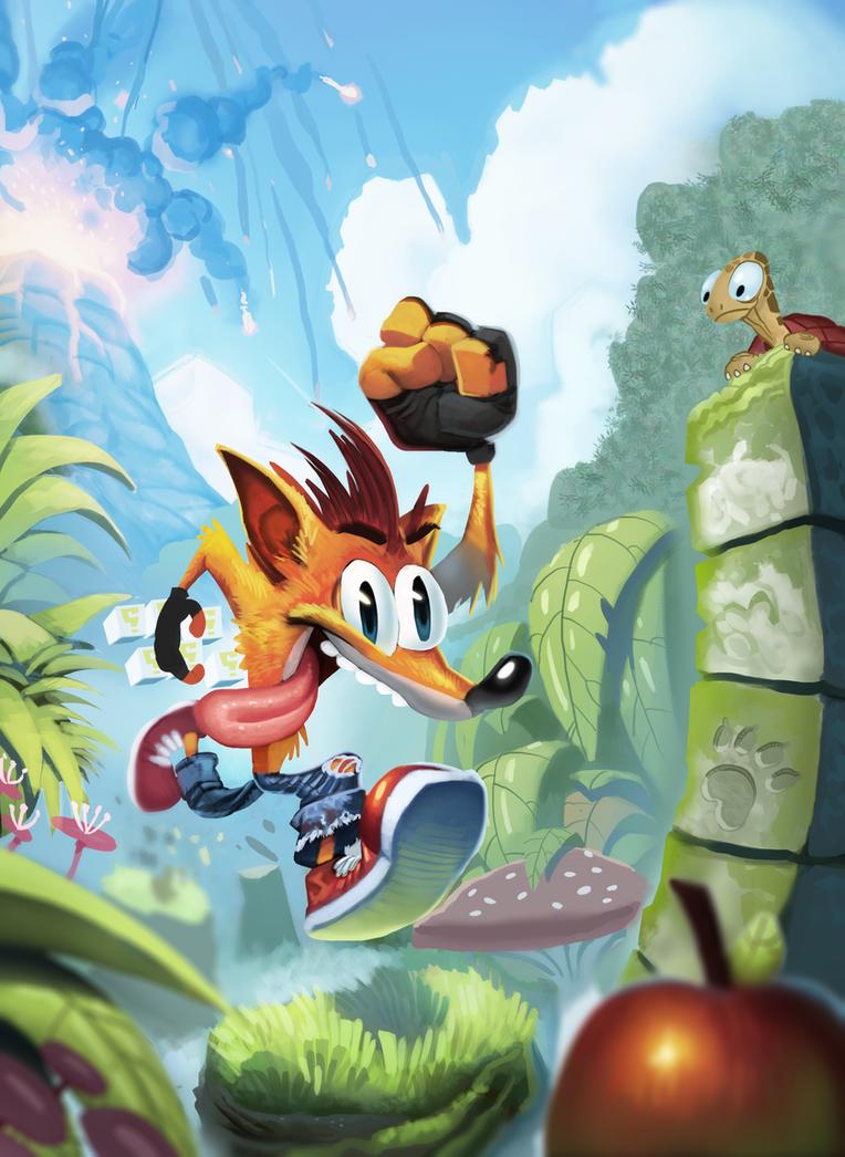 Crash Bandicoot By Henkkab On DeviantArt