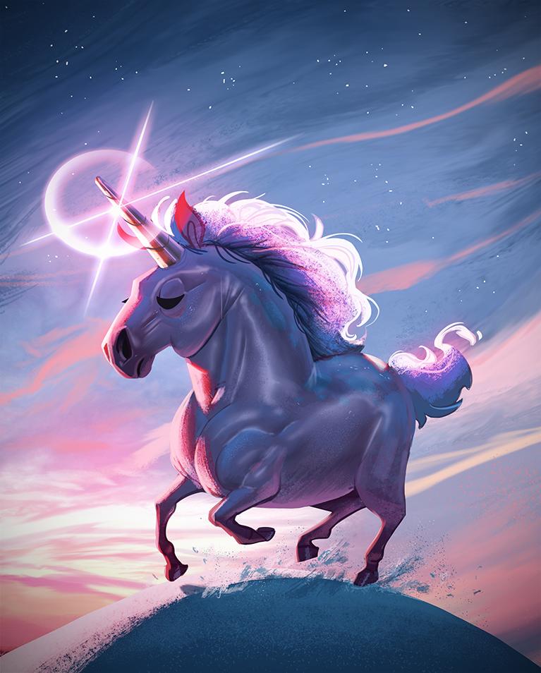 Last unicorn by Henkkab