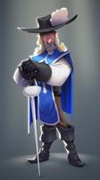 Old musketeer by Henkkab