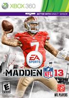 Madden NFL 13: Kaepernick cover by chronoxiong