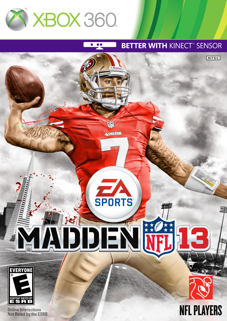 Madden NFL 13: Kaepernick cover by chronoxiong