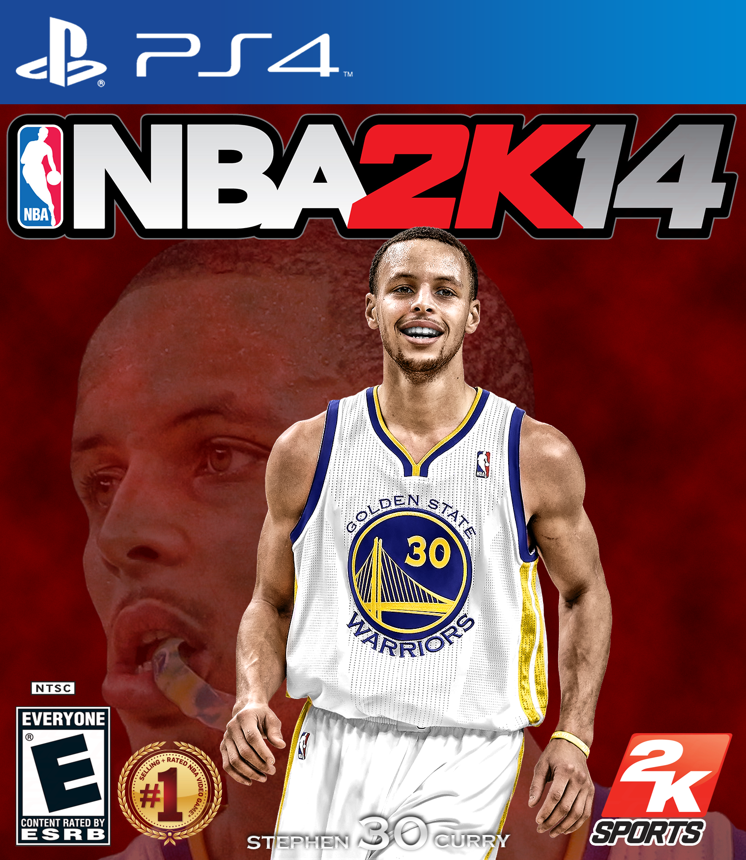 nba 2k14 curry cover by chronoxiong designs interfaces dvd covers 2013 ... Nba 2k14 Custom Covers Xbox