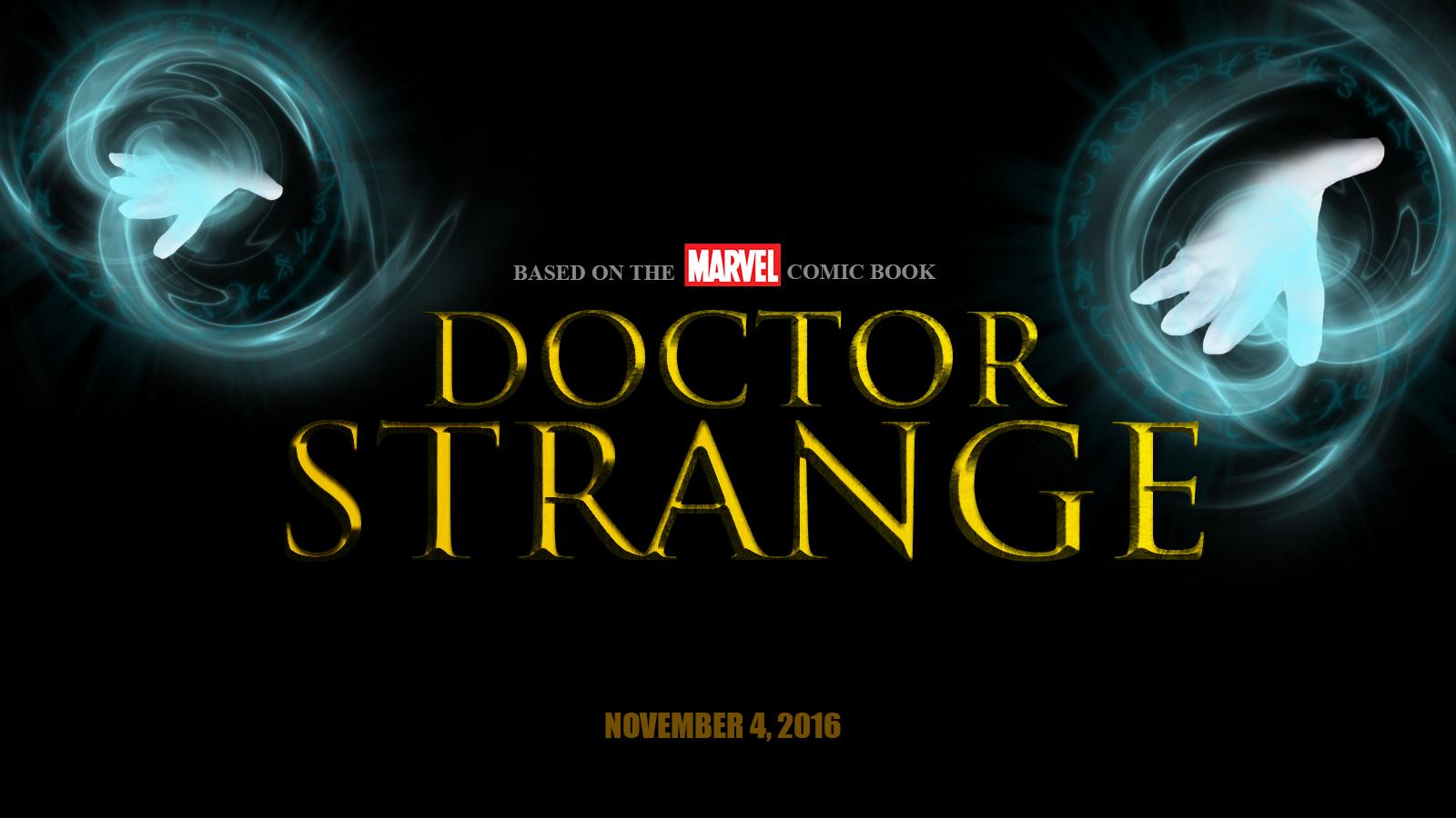 Doctor Strange Marvel Movie Wallpapers Widescreen Cinema: Doctor Strange Movie Logo By Chronoxiong On DeviantArt