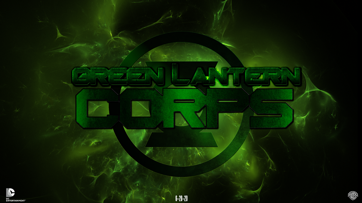 green lantern corps fandmade movie wallpaperchronoxiong on