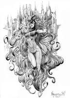 Medusa by MenguzzOArt