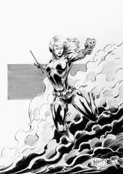 Black Widow by MenguzzOArt