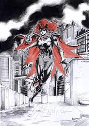 Batwoman by MenguzzOArt