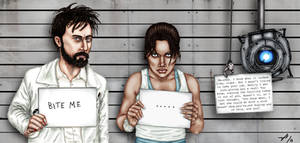 GLaDOS's Most Wanted by Sweet-Christabel