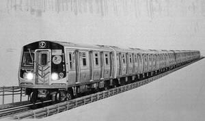 2009 Alstom R160B Subway Car