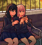 Rikka and Akane