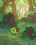 Turtwig in Forest