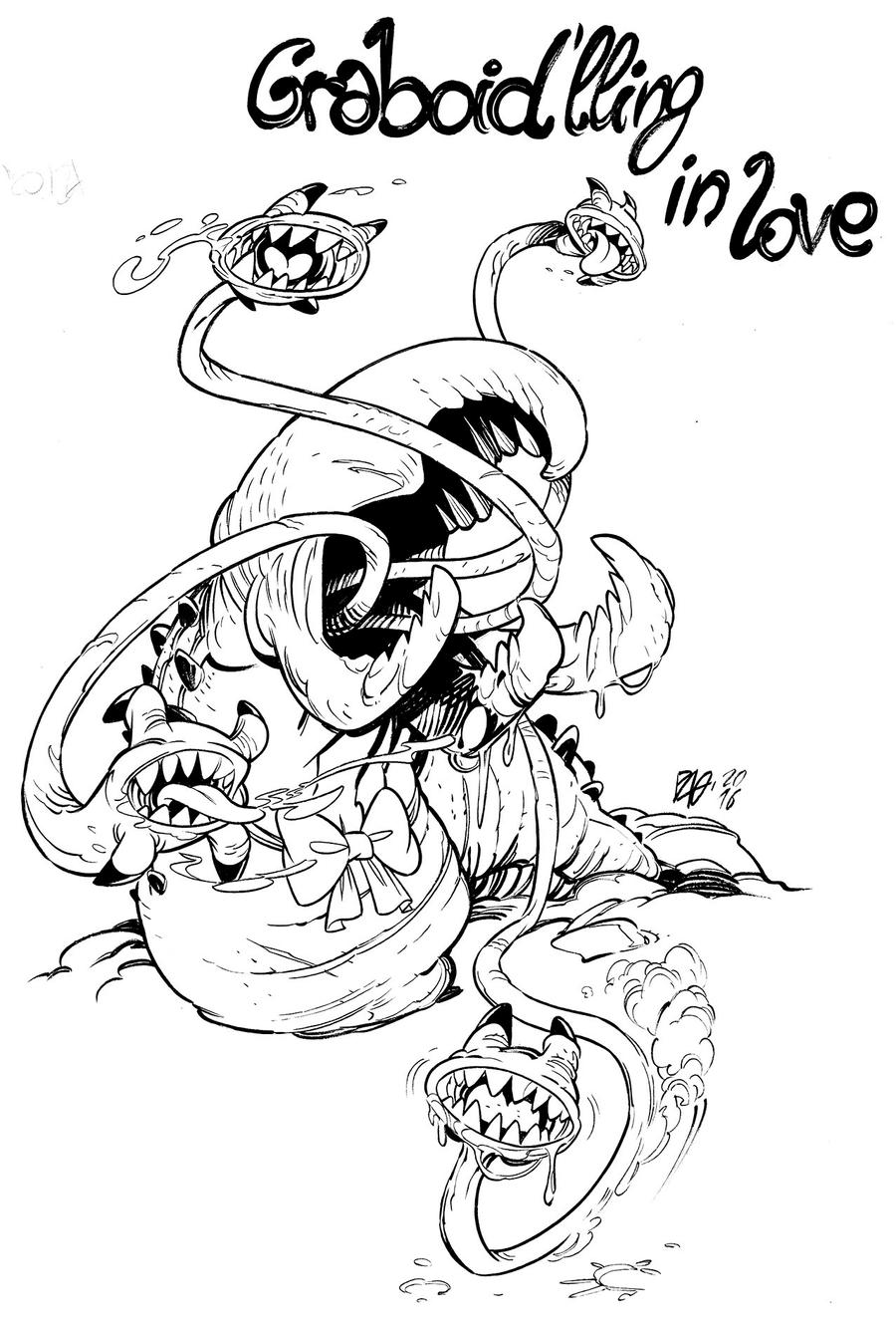 graboid coloring pages-#6