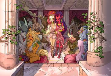 Madam Eris's  Mythological Brothel by Urz-Rulez