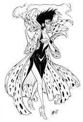 Cruella De Vil by Urz-Rulez