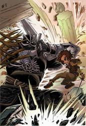 ARYA VS THE MOUNTAIN by Urz-Rulez