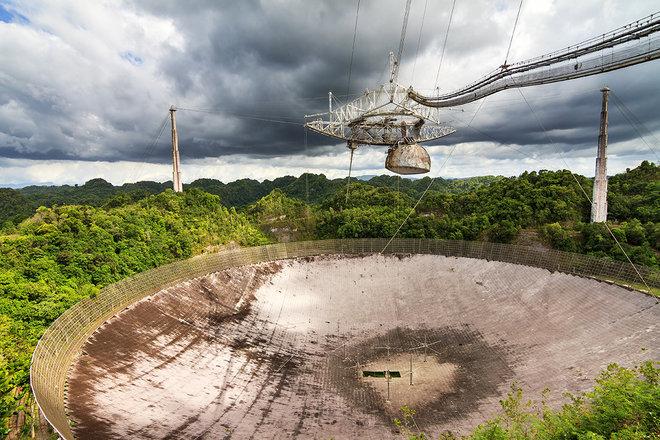 Arecibo Radio Telescope by grlft on DeviantArt