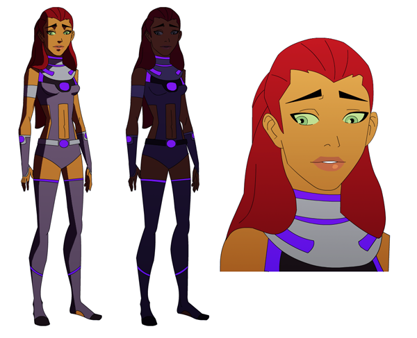 Young Justice Starfire by