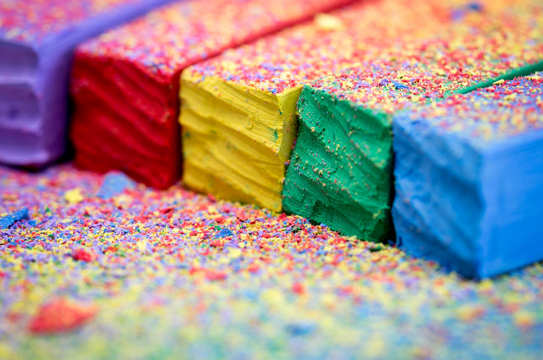 Colorful Chalks by ian-roberts on DeviantArt