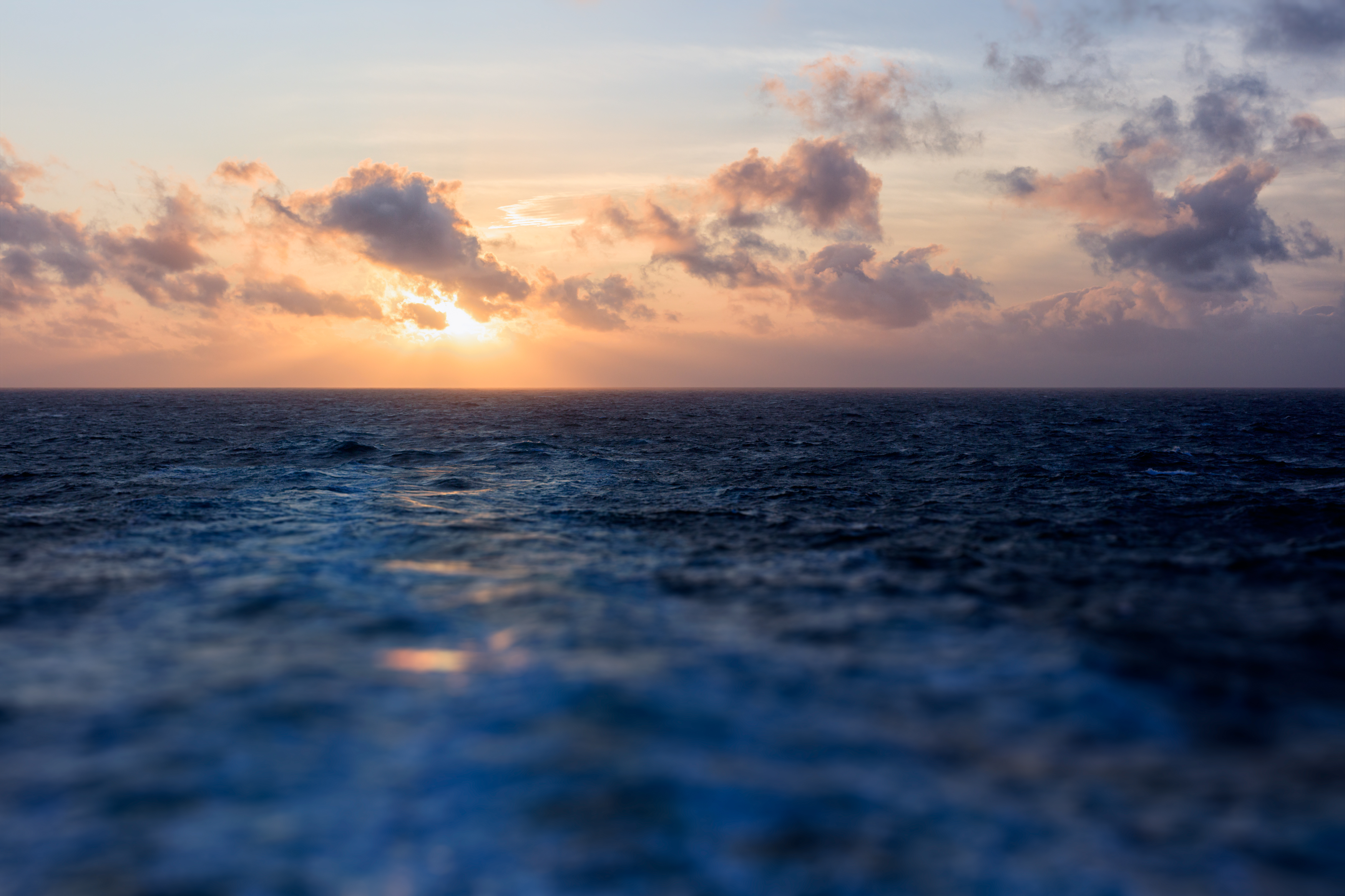 Atlantic Sunset by ian-roberts