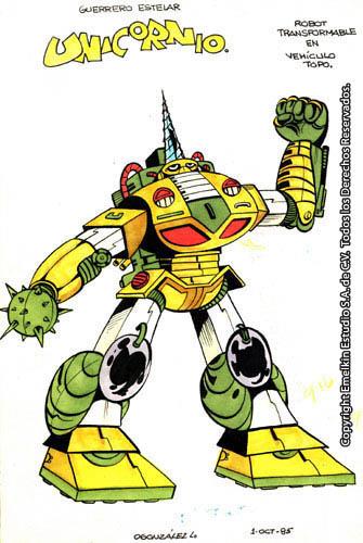 Ver tema - Karmatron, el Superrobot mexicano :: El Rincón de Garada