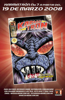 Karmatron issue 7 by Saskunah