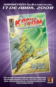 Karmatron Issue 8 by Saskunah