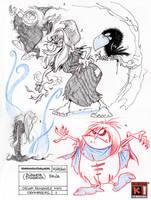 Sketchbook 29 by Saskunah