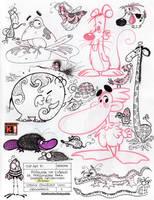 Sketchbook 32 by Saskunah