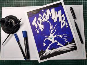 Inktober 2018 / Thunder 2