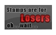 Stamps are for losers... by Dante-DS