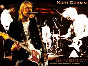 Kurt Cobain Wall by Dante-DS