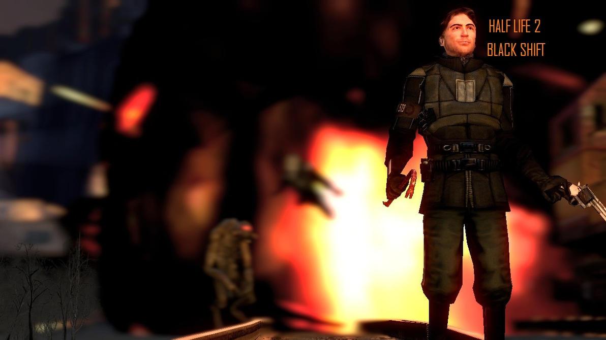 Half Life 2 Black Shift by crispylambda