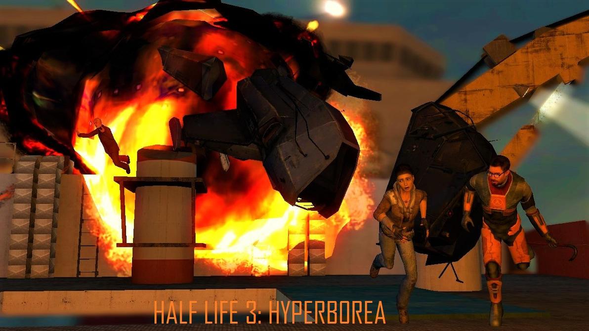 Half Life 3 Hyperborea by crispylambda