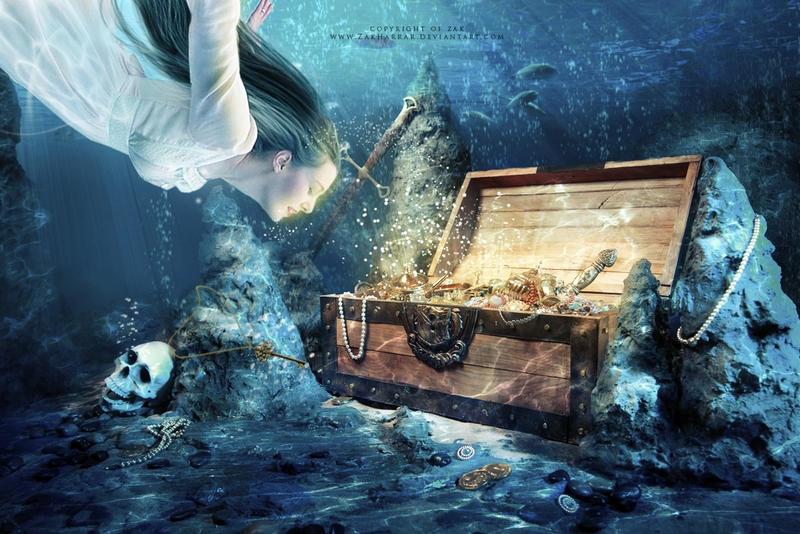 Ocean princess by ZakHarrar