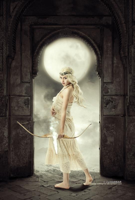 Artemis: Goddess of Light by ZakHarrar