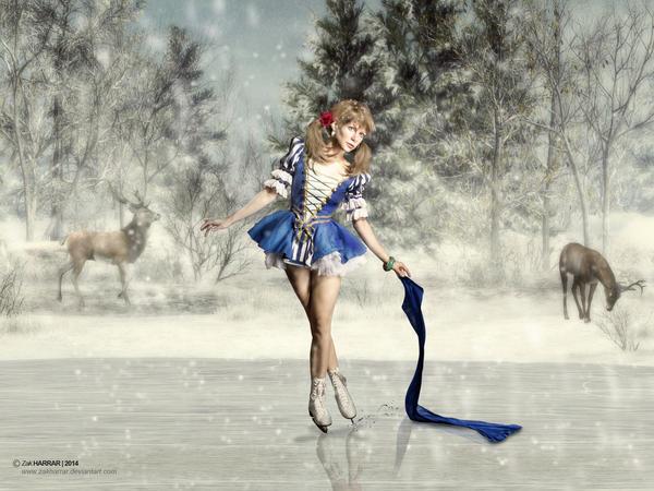 Ice Princess by ZakHarrar