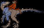 Simian Dino Jockey