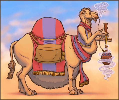 Kheylev the Corpulent Camel (Collab)