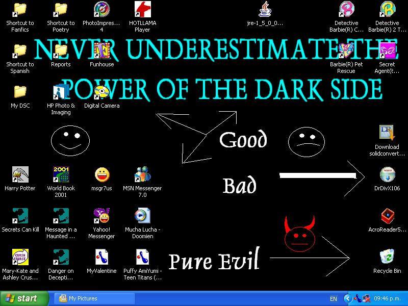 The Dark Side by Rosethorn225