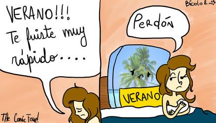 Comic Verano by la-bicolor