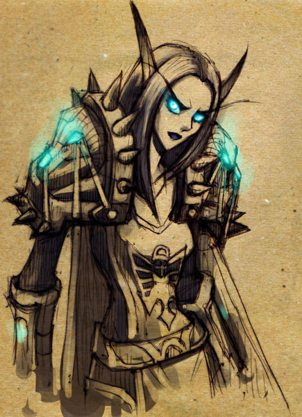 WoW: Lethargia sketch by ryumo
