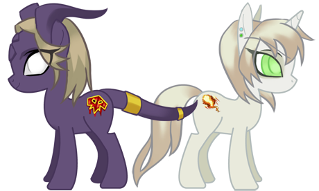 Warcraft BE Draenei Pony by ryumo